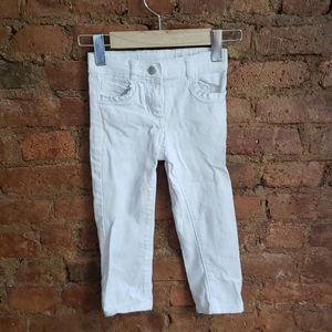Janie and Jack White Jeans